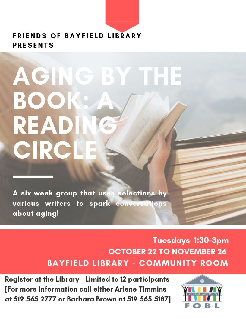 Upcoming Reading Circle!
