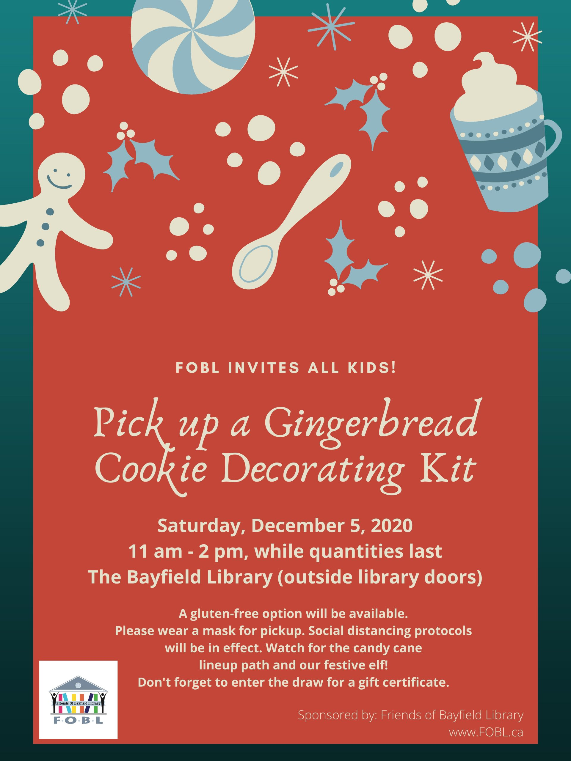 Gingerbread Decorating Event