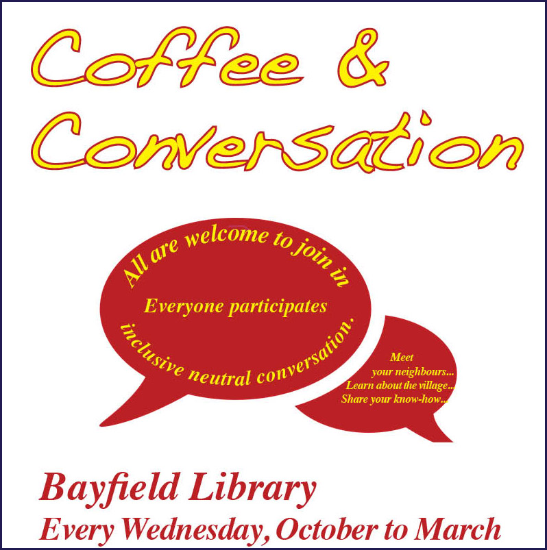 Come for Coffee & Chat